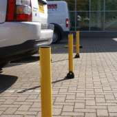 Fold Down Parking Post